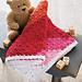 Sweet Sunset Baby Blanket pattern