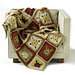 Calm Green / Chelsea Squares / Midwest Meadow Throw pattern