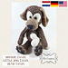 Little Dog Tanja and bone Hondje pattern