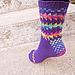 Lizzie Lazy ColorSox pattern
