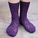 Striation Socks pattern