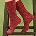 Gothic Spire Sock pattern