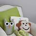 Owl & Monkey Pillows pattern