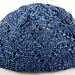 Semi-Slouchy Eyelet Hat (bulky) pattern