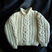 Design F - Kids' Aran Sweater pattern