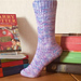 Swish & Flick Socks pattern
