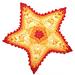 Starfish Applique - Crocheted pattern