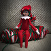 Elf on the Shelf Pompom Hat pattern