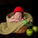 Apple Baby Bonnet pattern