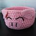 Lucky Pig Basket pattern