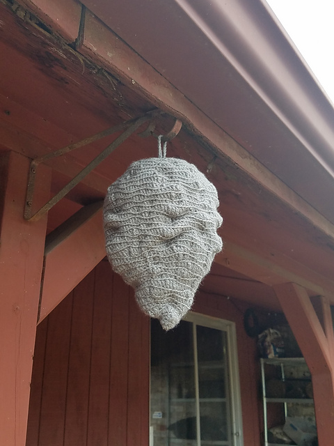 Ravelry Fake Hornets Nest Pattern By L A P Crochet Creations
