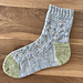 Country Garden Socks pattern
