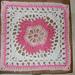 Lace Petals Square pattern