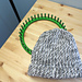 Easy Loom Knitted Hat With A Brim pattern