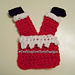 Santa's Stuck Applique pattern