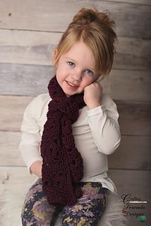 Heartfelt Scarf crochet pattern