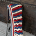 Patriotic Archway Throw pattern