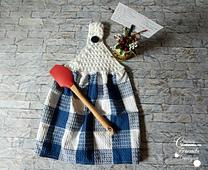 Star Towel Top crochet pattern