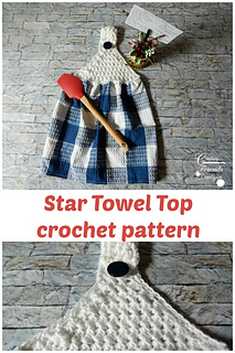 PIN this Star Towel Top crochet pattern