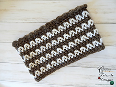 Loop the Loop Cowl crochet pattern
