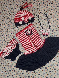 Swirly Whirly Child Sundress crochet pattern test by Jennifer