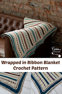 Pin This: Wrapped in Ribbon Blanket