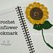 Sunflower Bookmark pattern
