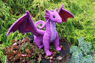Philip the Dragon Free Crochet Pattern | 213x320