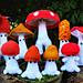 Mushroom Sprites pattern