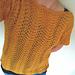 Golden Fern pattern