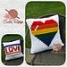 Rainbow Pride Pillow pattern