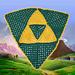 Zelda Triforce Shield Blanket pattern