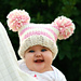 Baby Jester Pom Pom hat pattern