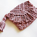 Wendy Fringe Clutch pattern