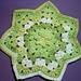 Granny RR Dish Cloth pattern