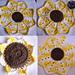 Sun Flower Kitchen Set pattern