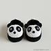 Crochet Baby Panda Booties pattern