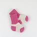 Two Tone Baby Socks pattern