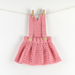 Baby Dress Peony Twirl pattern