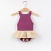 Baby Romper/Onesie/Dress - Little Ballerina pattern