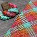 Happy Argyle Scarf pattern