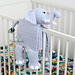 Cuddle and Play Elephant Baby Blanket pattern
