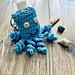 Handy Little Octopus Hand Sanitizer Keychain Cozy pattern