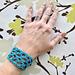 Fishnet Cuff Bracelet pattern