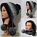 Frozen Snow Hat Warmer 5 Convertible and Original pattern