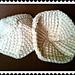 Easy Tunisian Crochet Breastfeeding Nursing Pads pattern
