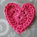 Basic Crochet Heart pattern
