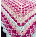 Rectangular Shell Blanket pattern