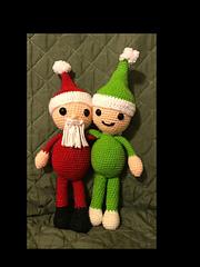Kris Kringle and Eldrich the Elf