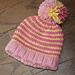 Sherbet Stripes Hat pattern